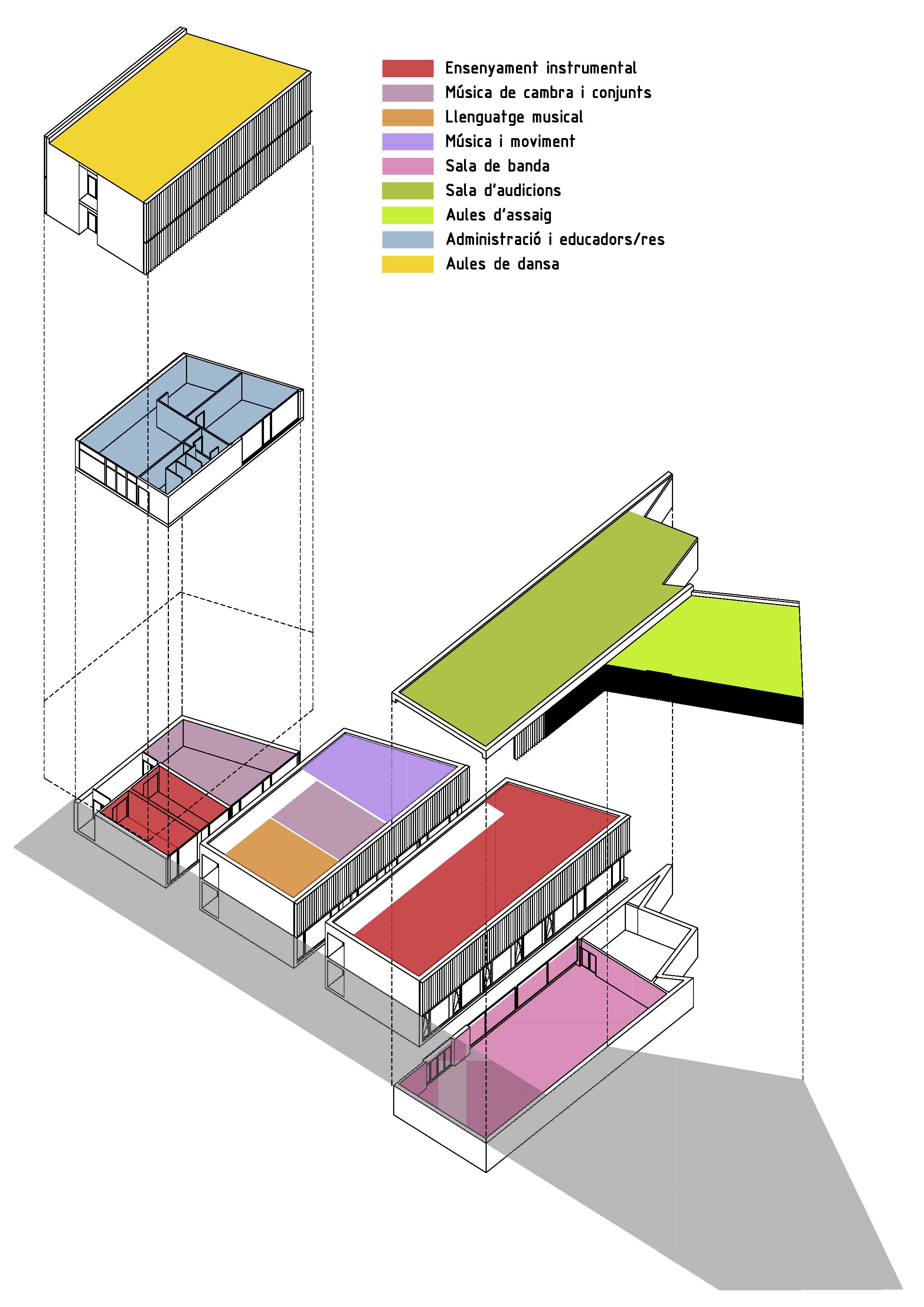 Fem arquitectura instituto de m sica y danza - Fem arquitectura ...
