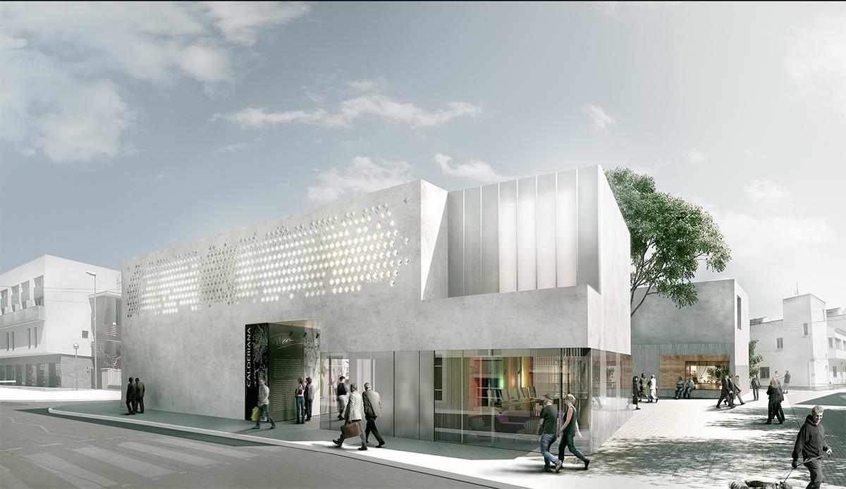 Fem arquitectura concurso nuevo edificio para medios en - Fem arquitectura ...