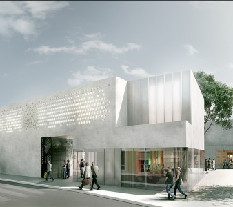 new media building competition in Vandellòs: 2nd prize