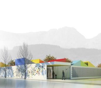 Infantile school and kindergarten