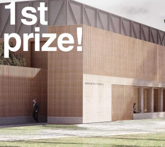first prize tortosa auditorium
